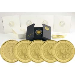 50 Euro Goldmünze Lutherrose
