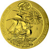 100 Francs Ruanda 2017 - 1 Unze Gold BU - Nautical Ounce: Santa Maria