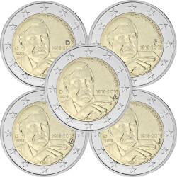Andorra 2014 Kursmünzen Bankfrisch 6 Münzen 5 Cent Bis 2