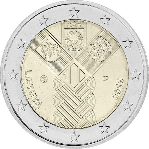 10 X 2 Euro Deutschland 2018 Bfr Helmut Schmidt Berlin Kom