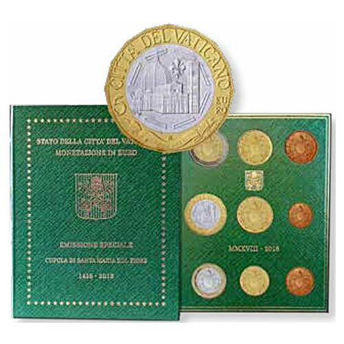 Kms Vatikan 2018 Stempelglanz St Mit 5 Euro Gedenkmünze 1490