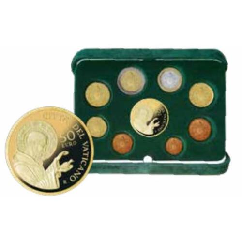 Kms Vatikan 2018 Polierte Platte Pp Inkl 50 Euro Goldmünze 1