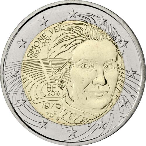 2 Euro Gedenkmünze Luxemburg 2018 Bfr 150 Jahre Verfassung 5
