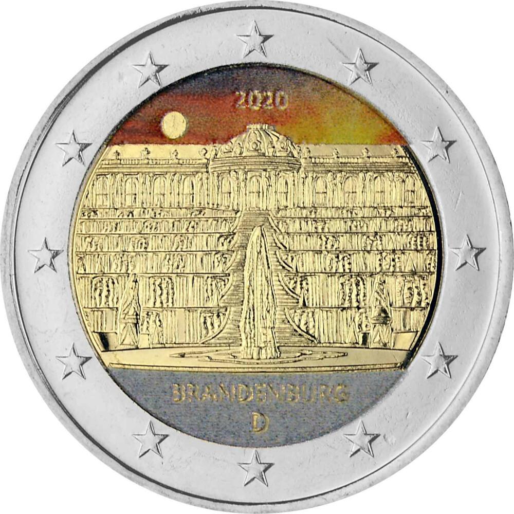 Sonderprägung 2 Euro Deutschland