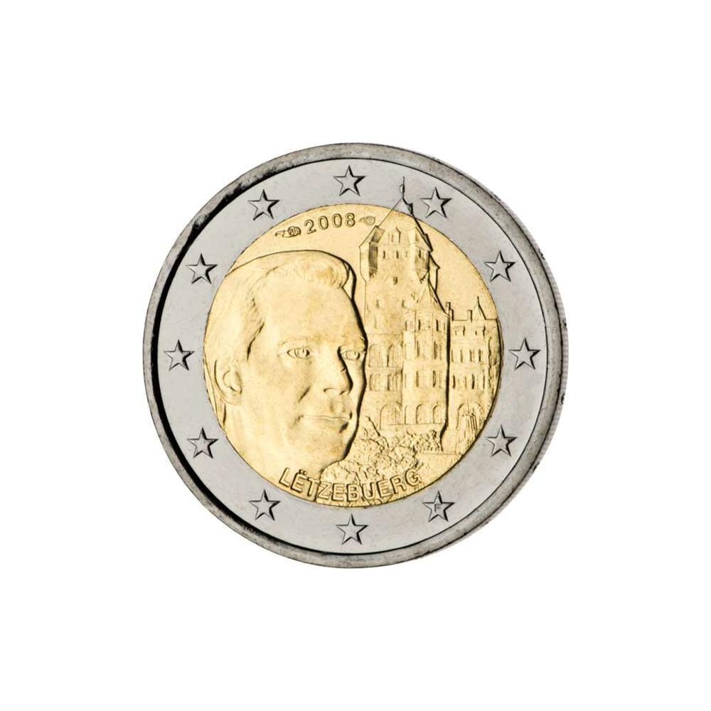 2 euro gedenkm nze luxemburg 2008 bfr chateau de berg. Black Bedroom Furniture Sets. Home Design Ideas