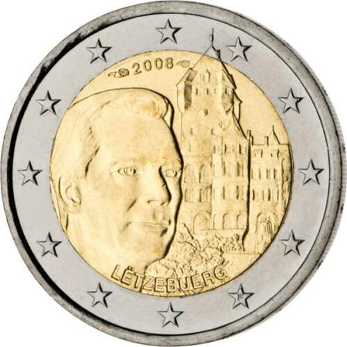 2 Euro Gedenkmünze Luxemburg 2011 Bfr Jean 549