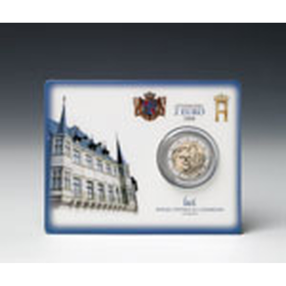 2 euro gedenkm nze luxemburg 2008 st chateau de berg. Black Bedroom Furniture Sets. Home Design Ideas