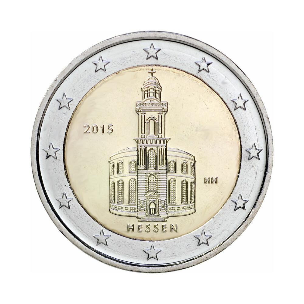 2 Euro Gedenkmünze Deutschland 2015 Bfr Paulskirche D 345